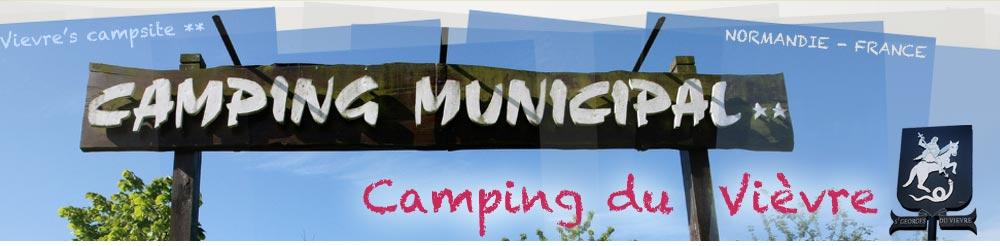 Camping du Vièvre - Camping Municipal 2 étoiles - Normandie - France
